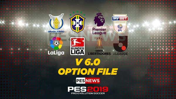 PESNews v6.0 Option File на PS4