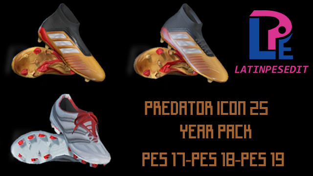 Бутсы Adidas Predator Icon 25 Year