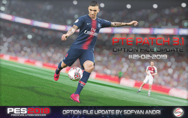 Option File от 21/02 (PTE Patch 3.1)